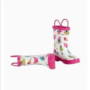 Hatley girl's rainboots